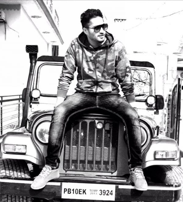 Black And White Pic Of Jassi Gill