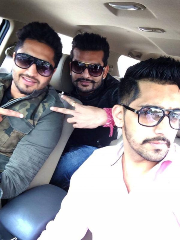 Jassi Gill With Babbal Rai And Yuvraj Hans