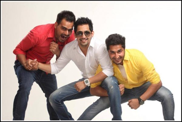 Pic Of Jassi Gill With Babbal Rai And Prabh Gill