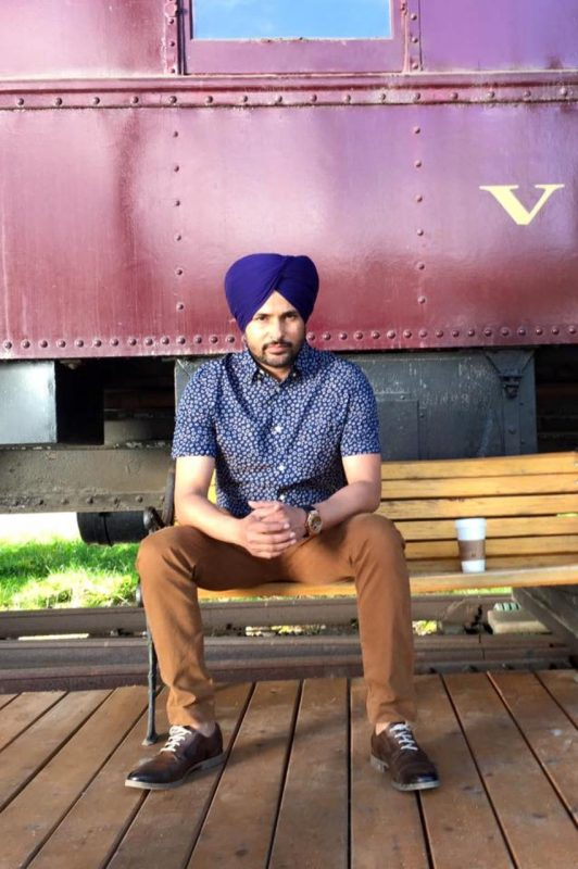 Amrinder Gill Looking Cool