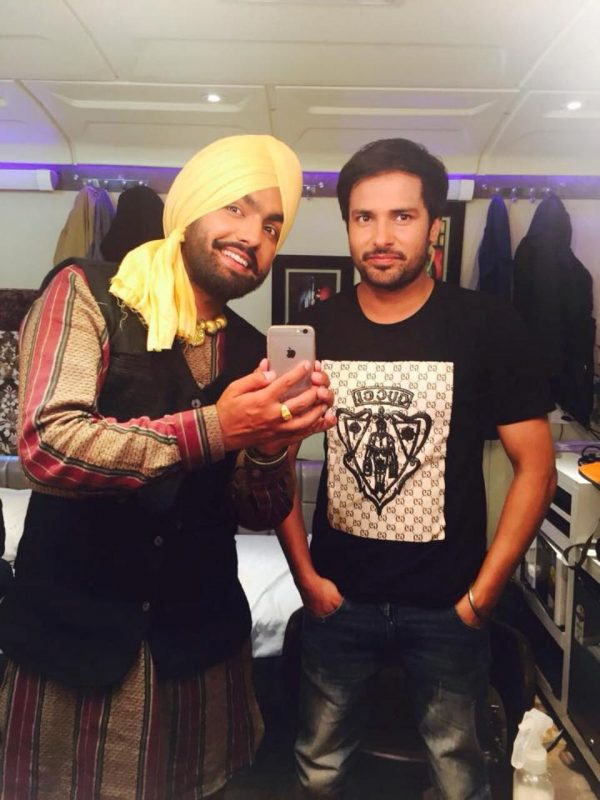 Amrinder Gill With Ammy Virk
