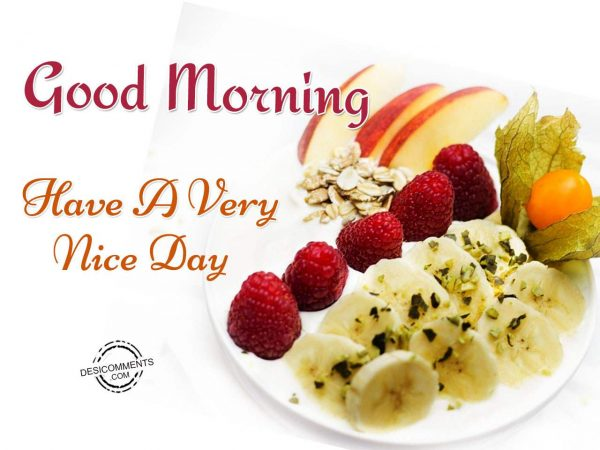 Good Morning - Have A Very Nice Day