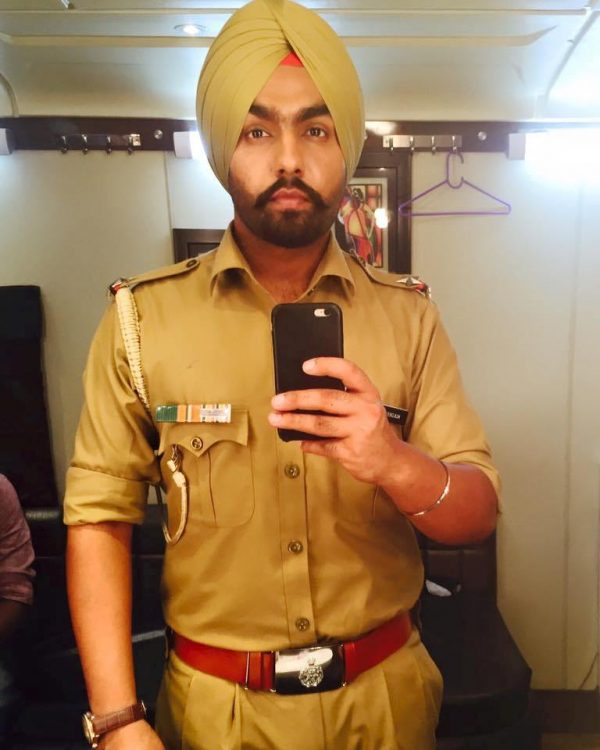 Punjabi Actor Ammy Virk Looking Good