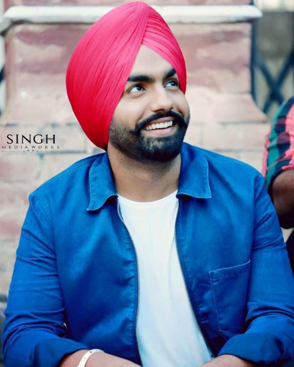 Punjabi Actor Ammy Virk Looking Nice