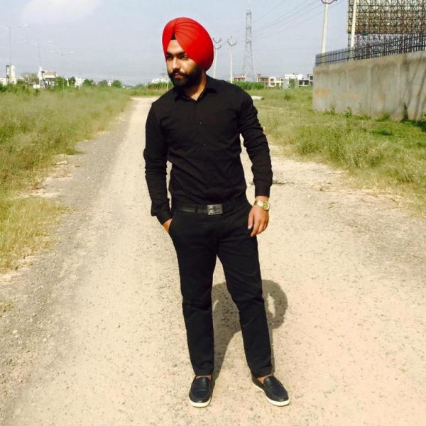 Punjabi Singer Ammy Virk Looking Good