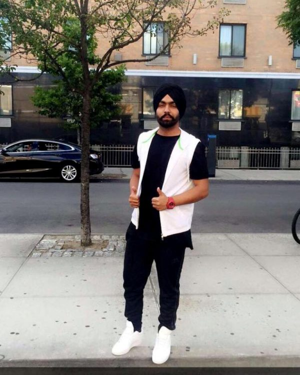 Punjabi Singer Ammy Virk Looking Handsome
