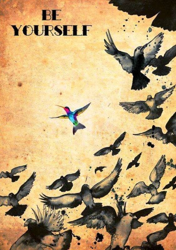 Be A Free Bird Be Yourself