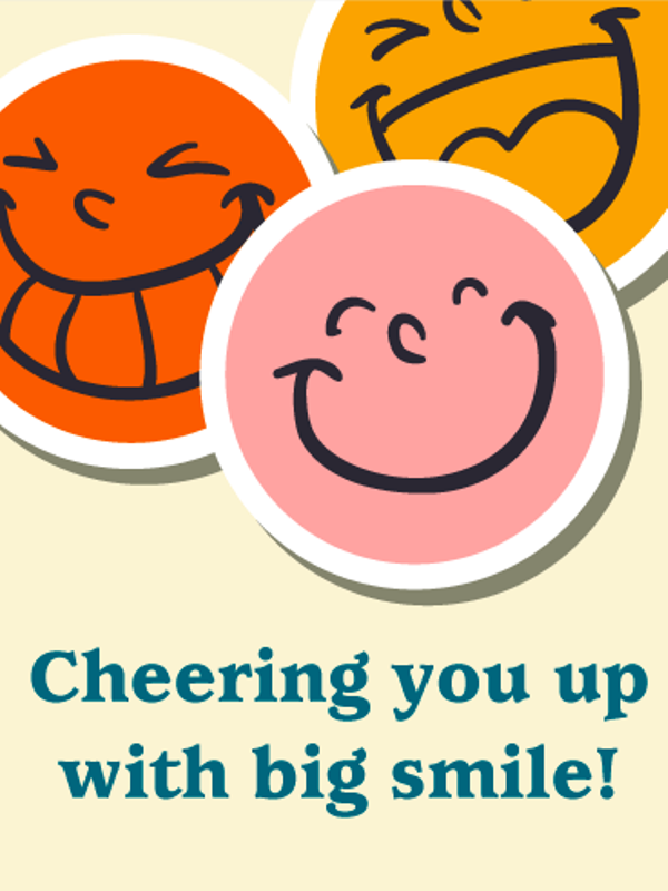 Cheering You Up With Big Smile