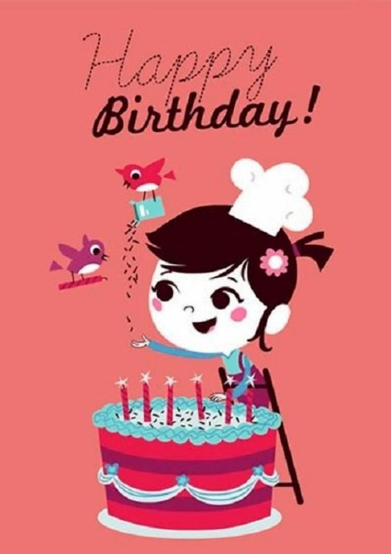 Cute Happy Birthday Image
