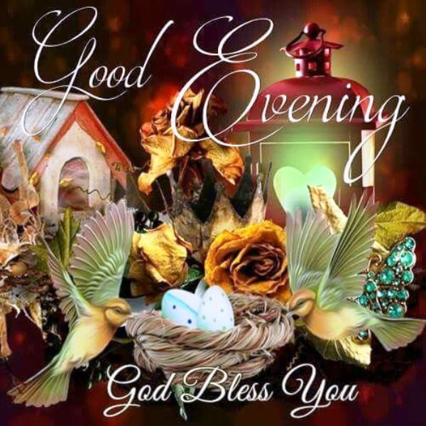 God Evening God Bless You