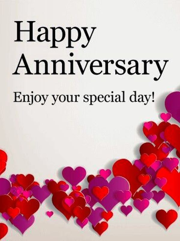 Happy Anniversary Enjoy Your Special Day