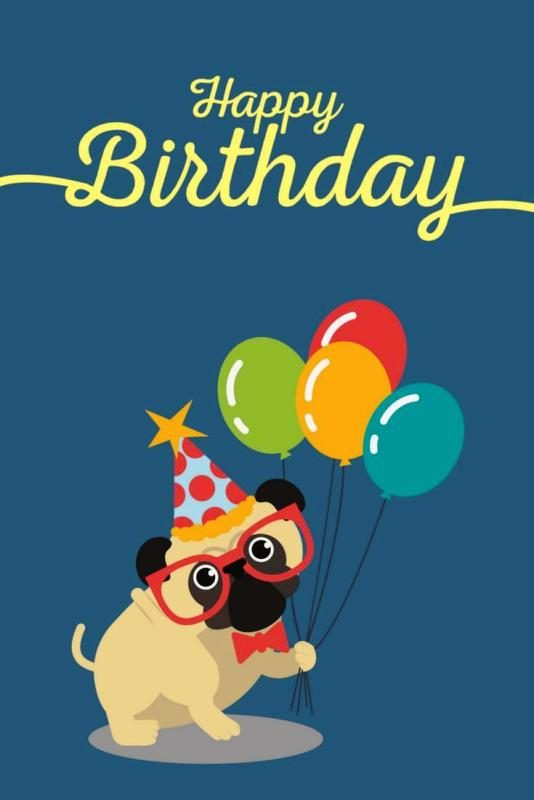 Picture: Happy Birthday From Pug
