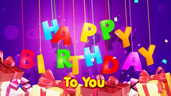 Picture: Happy Birthday To You