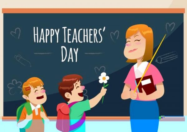 Happy Teachers Day Photo
