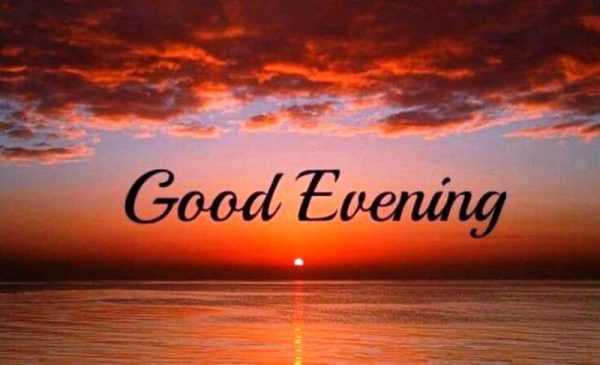 Picture: Image Of Good Evening