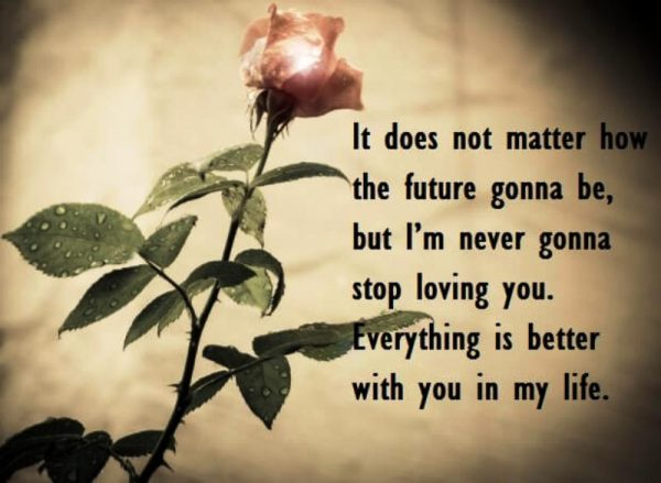 It Does Not Matter How The Future Gonna Be