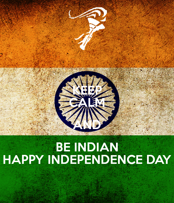 Picture: Keep Calm And Be Indian