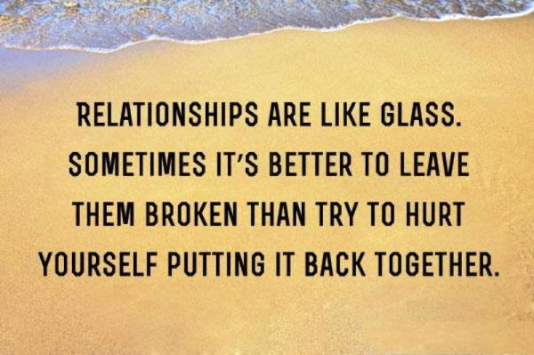 Relationships Are Like Glass