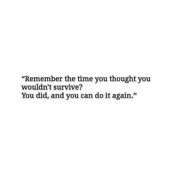 Remember The Time You Thought You