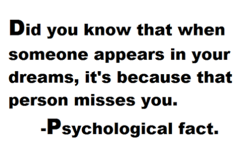 Did You Know That When Someone Appears