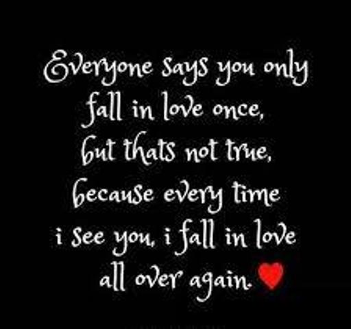 Everyone Says You Only Fall In Love