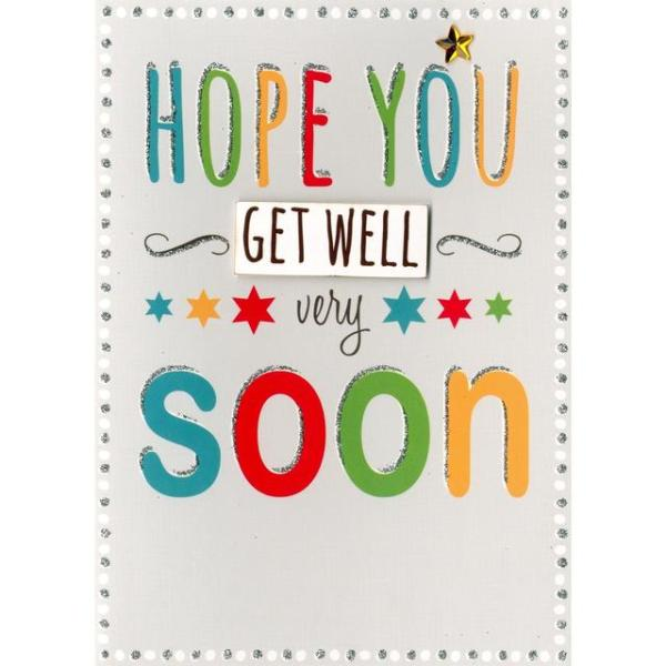 Hope You Get Well Very Soon