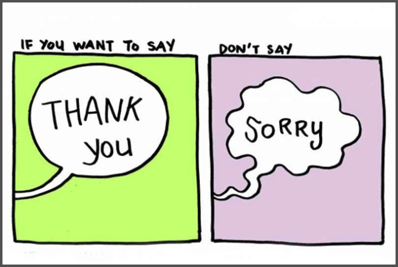 Picture: If You Want To Say Thank You