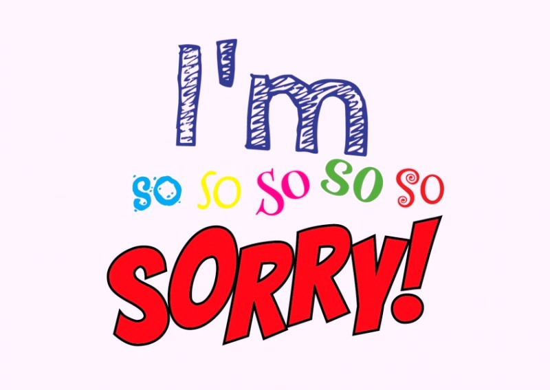 Picture: I'm So So So So So Sorry