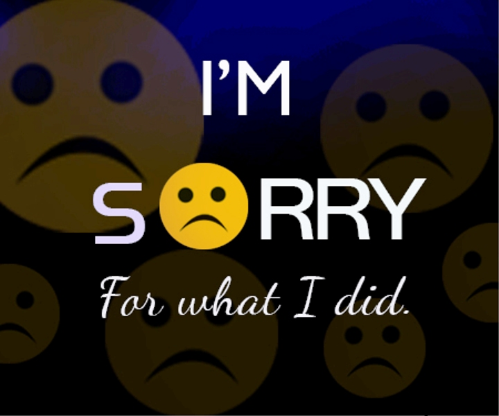 Picture: Im Sorry For What I Did