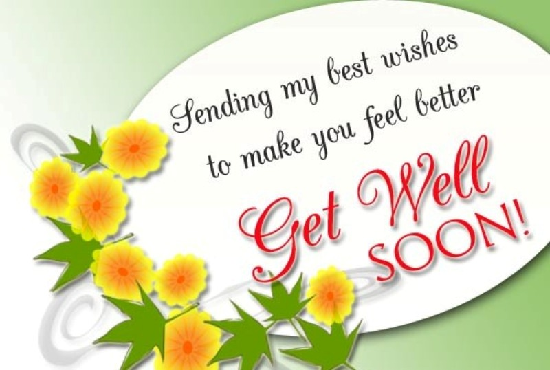 Sending My Best Wishes To Make You Feel Better