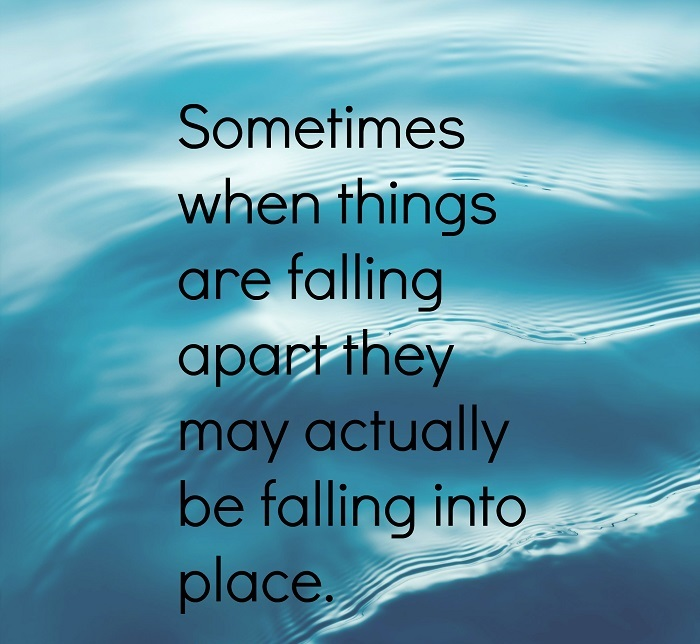 Sometimes When Things Are Falling
