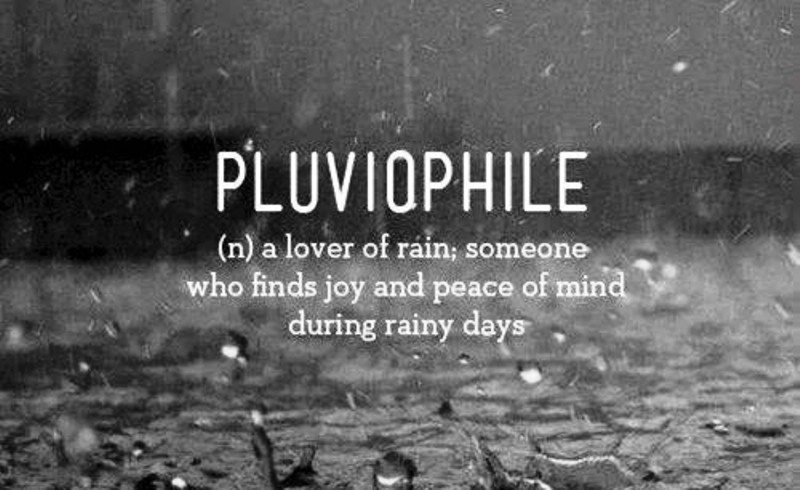 A Lover Of Rain