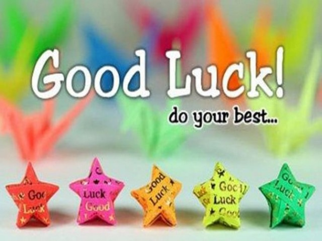 Good Luck Do Your Best