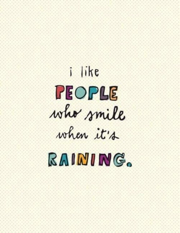 Picture: I Like People Who Smile