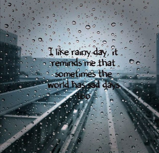 I Really Rainy Day