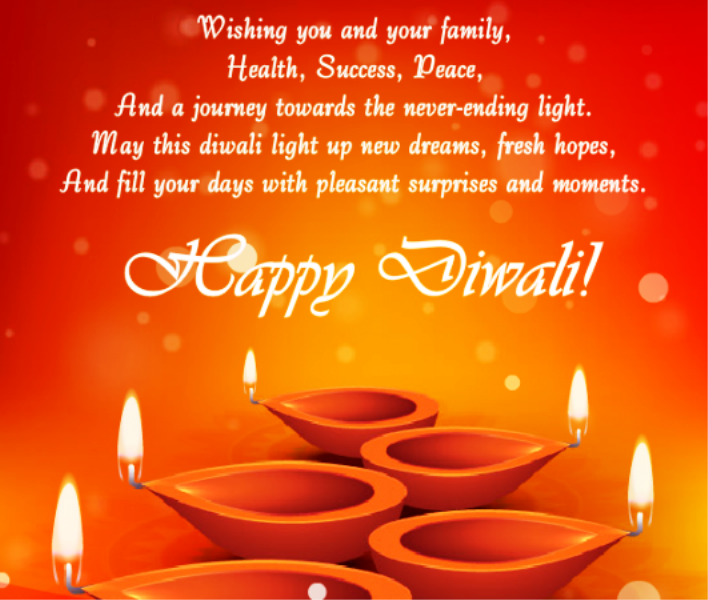 Wishing You And Your Family Health Success