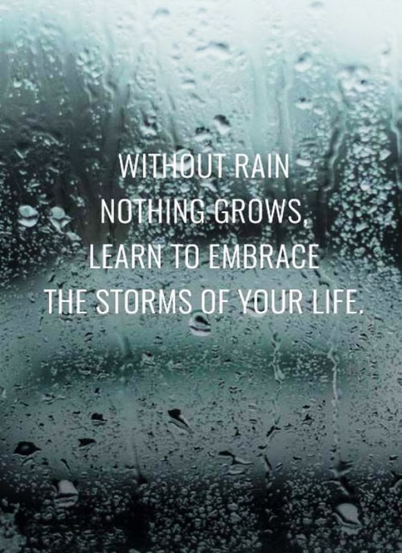 Without Rain Nothing Grows