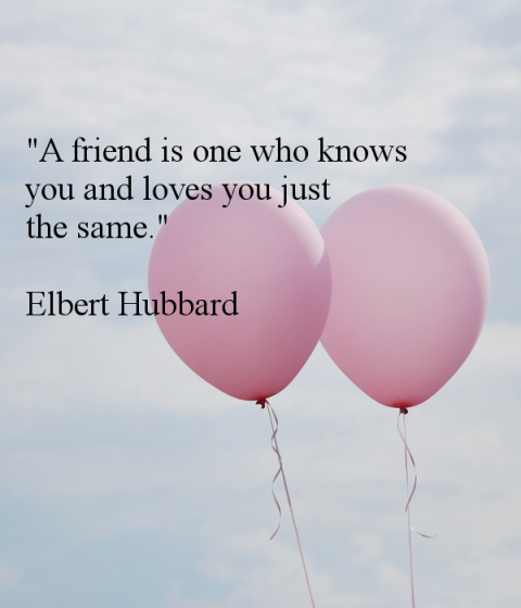 A Friend Is One Who Knows You