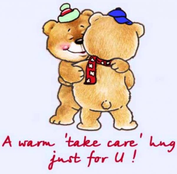A Warm Take Care Hug Just For You