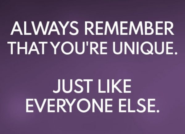 Always Remember That You Are