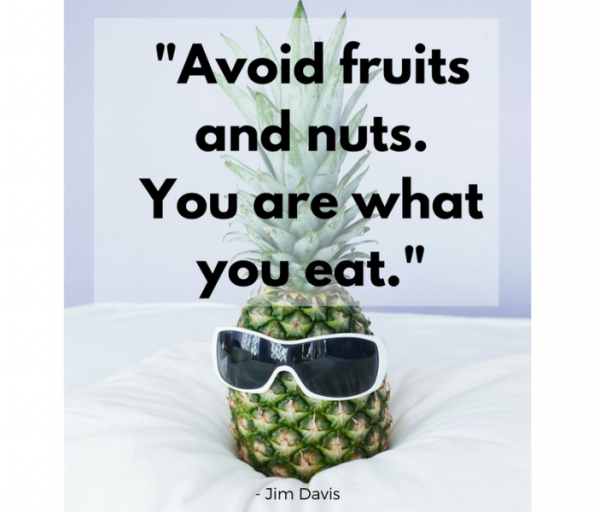 Picture: Avoid Fruits And Nuts