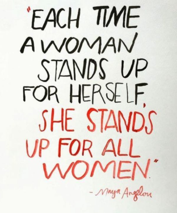 Each Time A Woman Stands Up