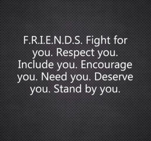 Friends Fight For You Respect You