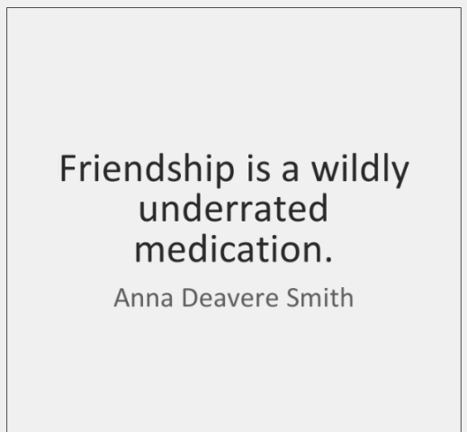Friendship Is A Wildly Underrated Medication