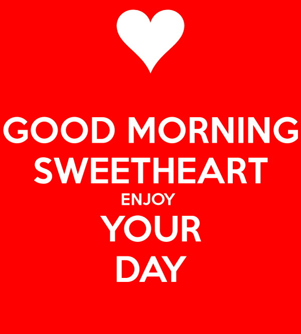 Picture: Good Morning Sweetheart