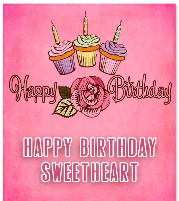 Picture: Happy Birthday Sweetheart