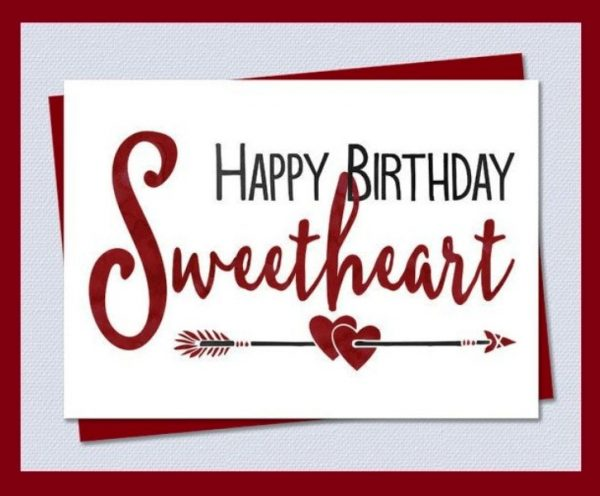 Happy Birthday Sweetheart Image