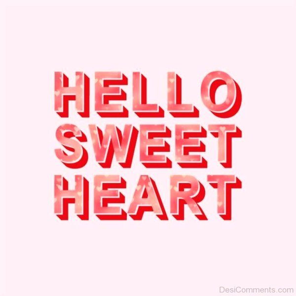 Picture: Hello Sweetheart