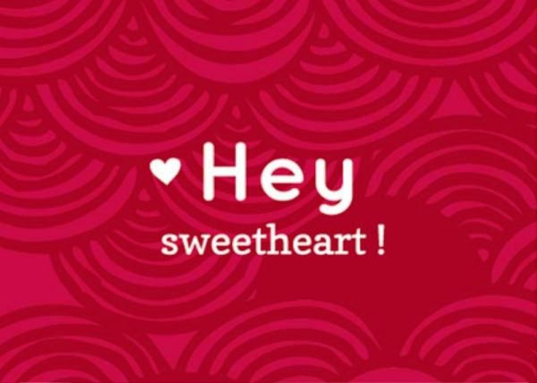 Picture: Hey Sweetheart