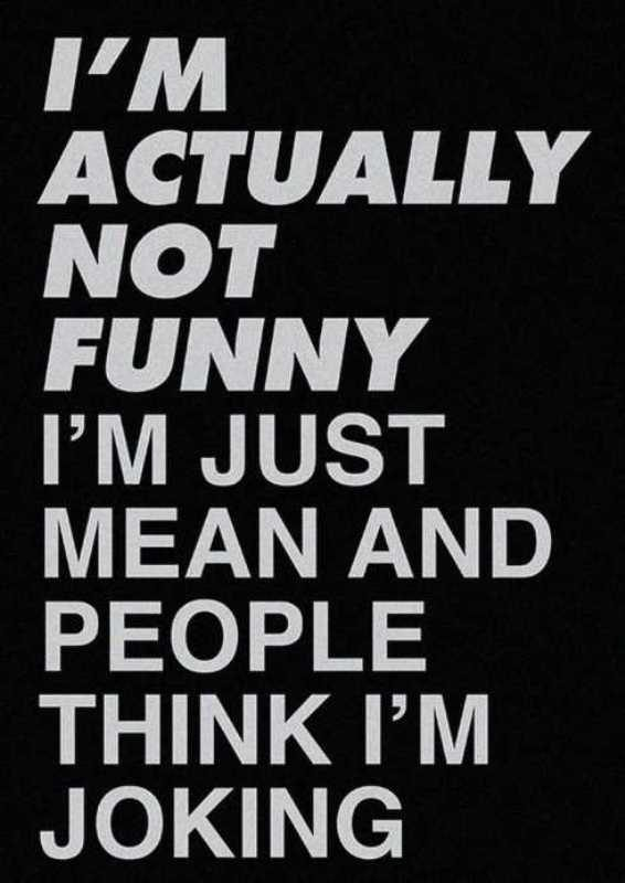 Picture: I Am Actually Not Funny